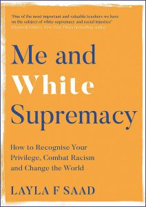 Book cover - Me and white supremacy